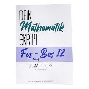 Produktbild FOS-BOS 12 Technik Bayern Skript - Deckblatt